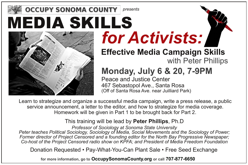 Media Skills for Activists: Effective Media Campaign Skills