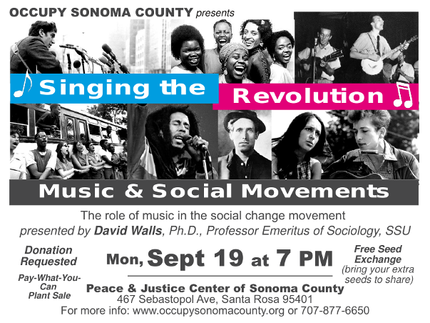 Singing the Revolution - Music & Social Change Movements